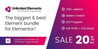 Unlimited Elements for Elementor PRO